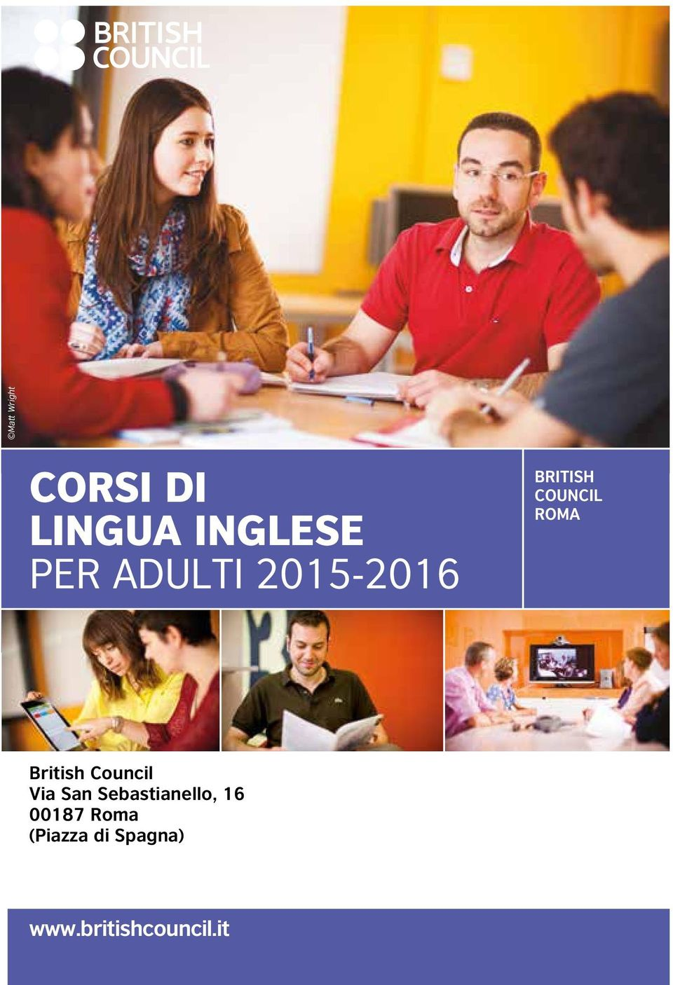 British Council Via San Sebastianello, 16