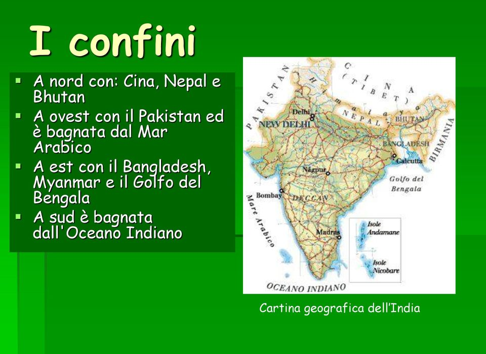 Cartina Geografica India Del Sud.I Confini Cartina Geografica Dell India Pdf Download Gratuito