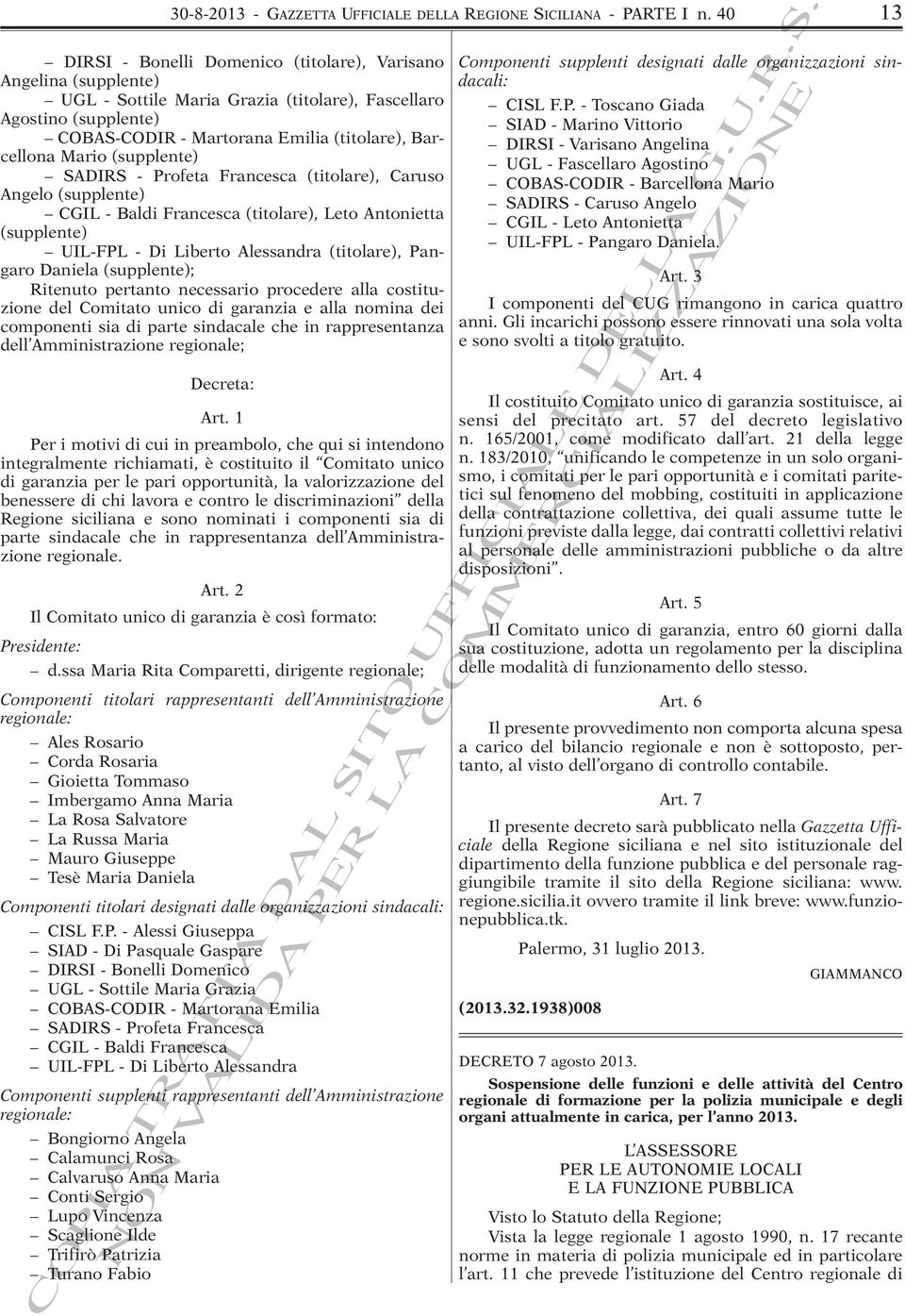 Della Regione Siciliana Pdf Free Download