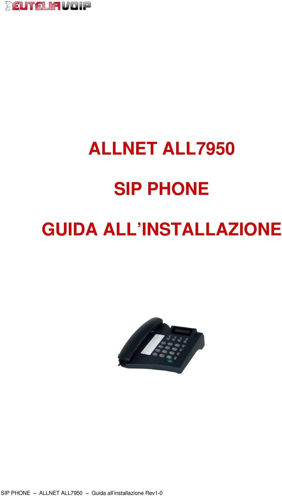 SIP PHONE ALLNET ALL7950