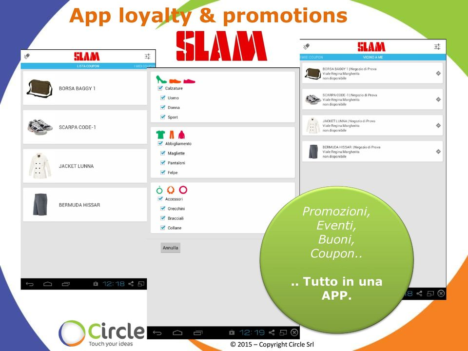 Coupon.... Tutto in una APP.