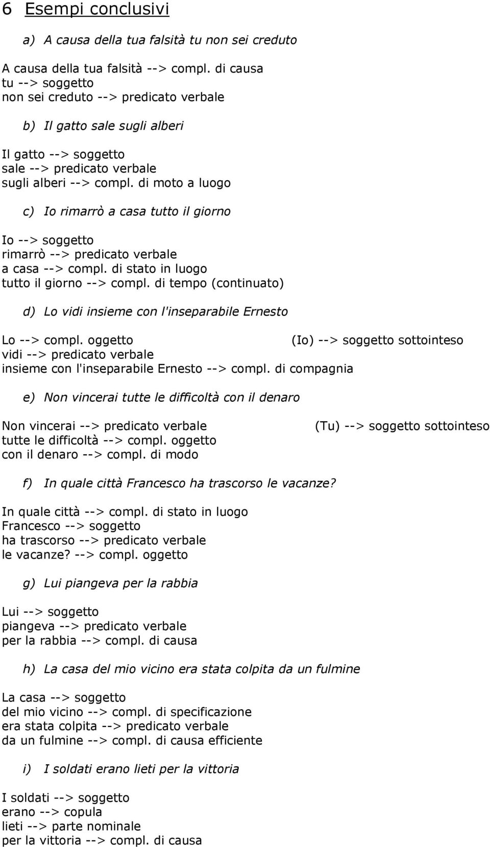 Richiami Di Analisi Logica Pdf Download Gratuito