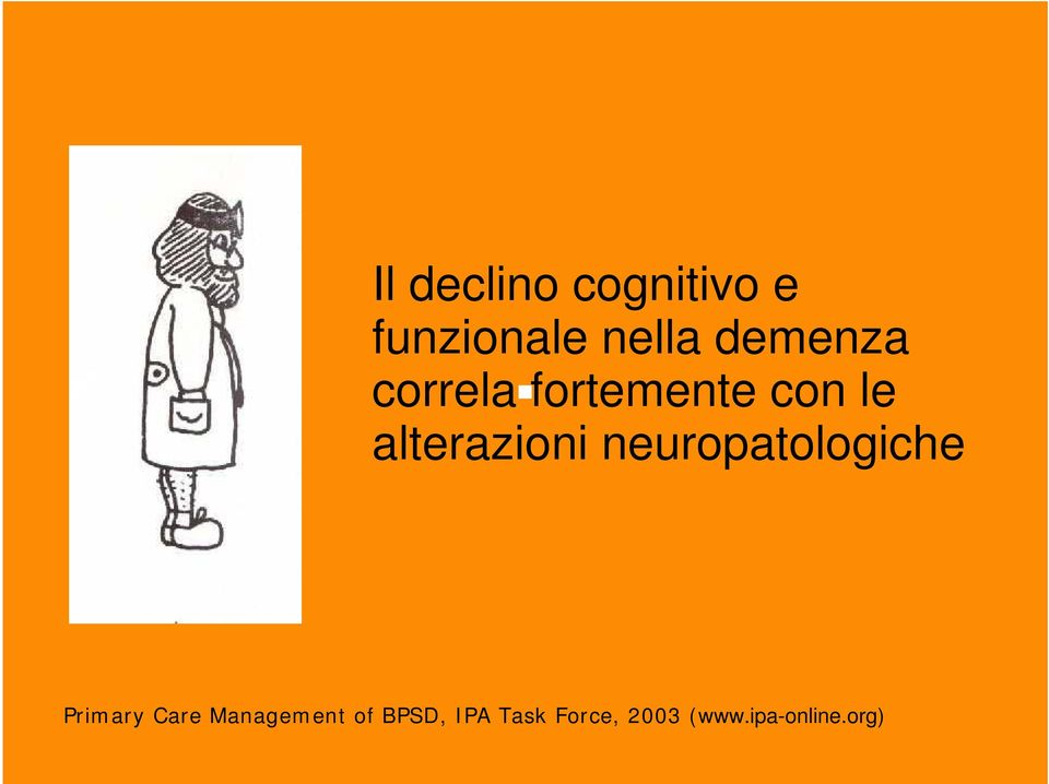 alterazioni neuropatologiche Primary Care
