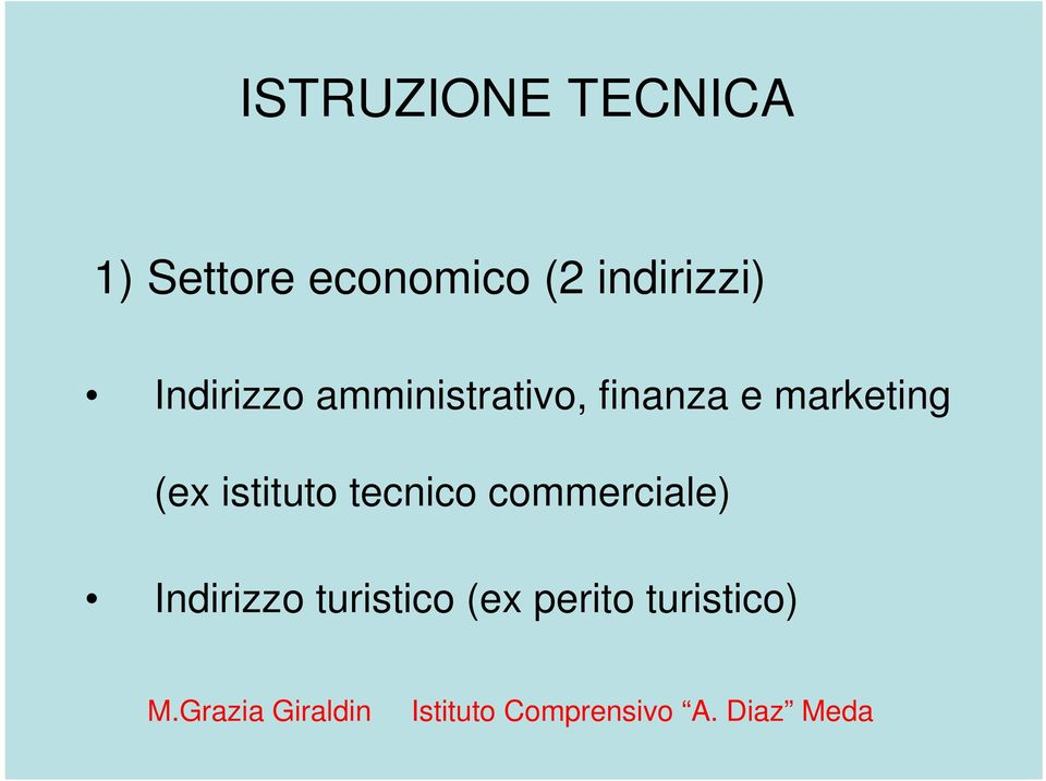 finanza e marketing (ex istituto tecnico