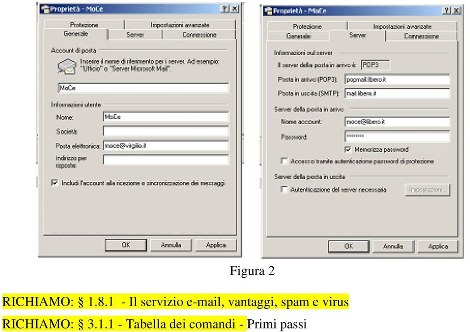 vantaggi, spam e virus