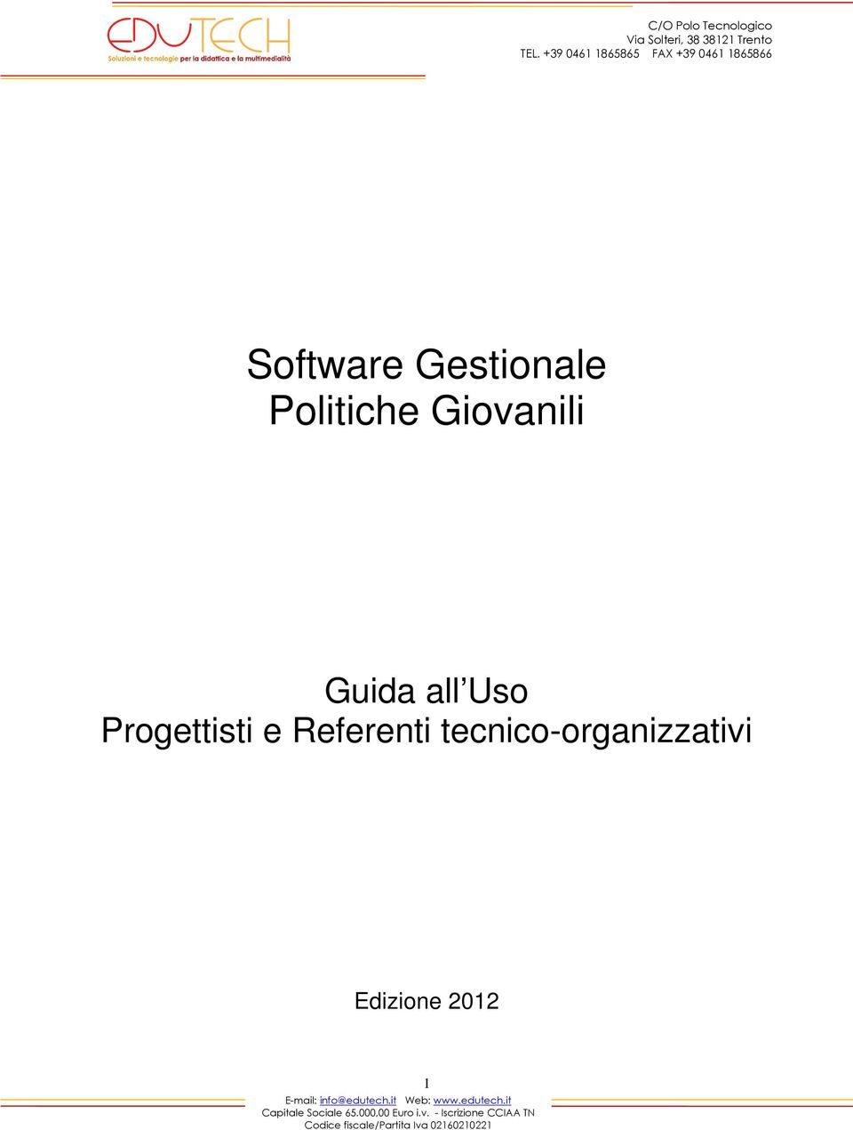 all Uso Progettisti e