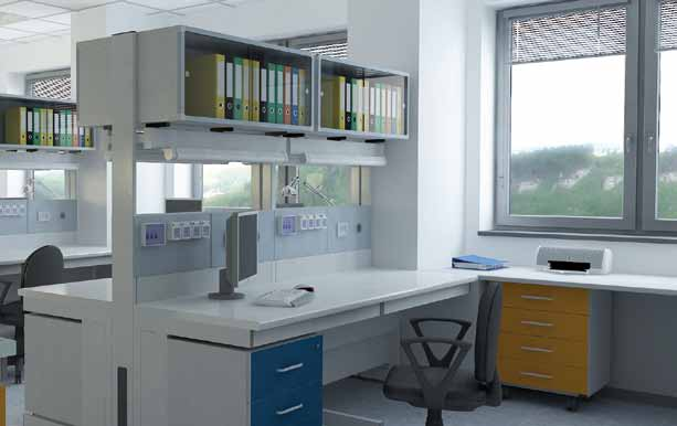 prova. TÜV Rheinland certified according to EN-13150: 2001, european standard concerning Working benches for laboratories: dimensions, safety requirements and test methods.