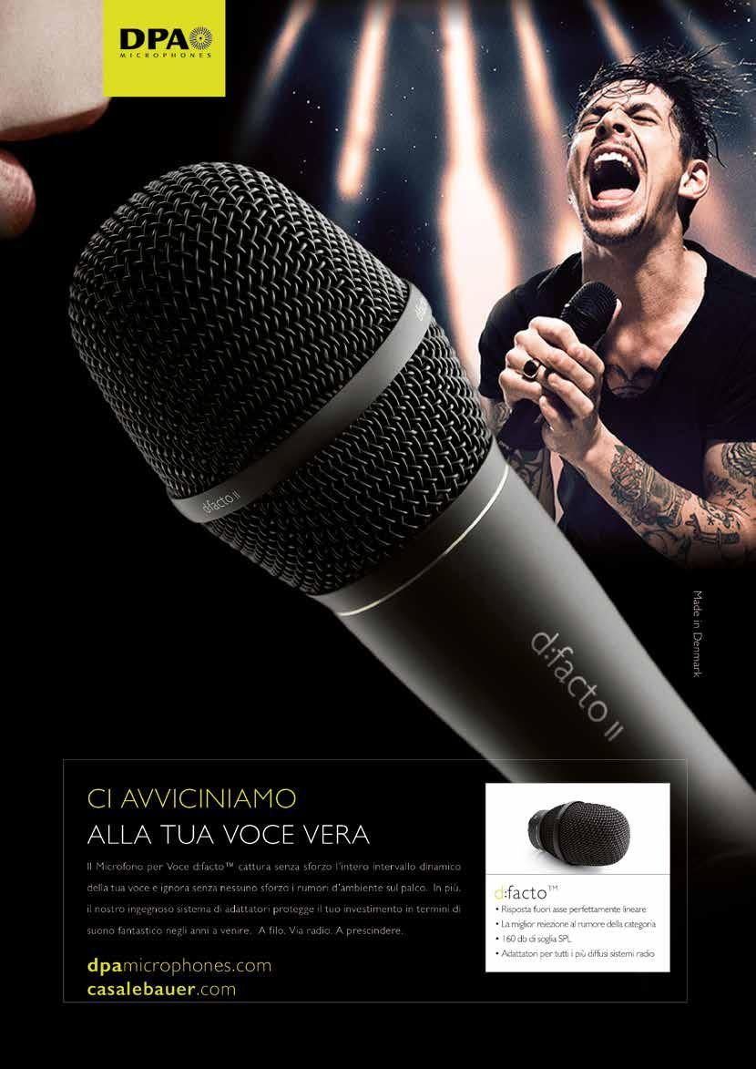Dfacto Microfono Per Voce Accessori Pdf Electret Microphone To Xlr Wiring Together With Sc4060 Dpa Microphones Transcript