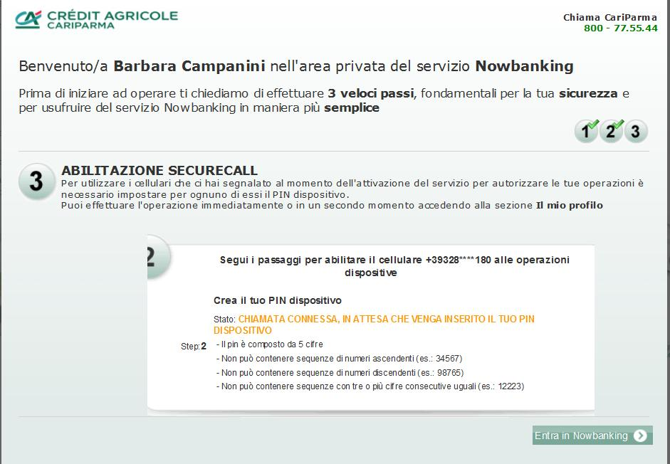 NOWBANKING CARIPARMA SCARICA