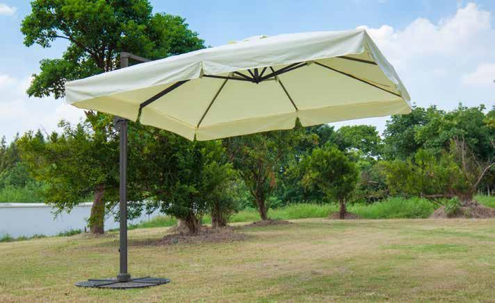 Palm Springs resistente alle intemperie ombrellone patio Umbrella mobili Coperchio di protezione
