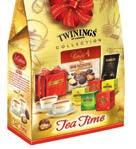 NNNv::MAAm 19,99 19,99 20,99 STRENNA TEA TIME TWININGS Elegante Shopper Tea Time 2 Tazze in porcellana Twinings Tea Time 1 Scatola pasticceria assortita Vanoir - 200 g 2